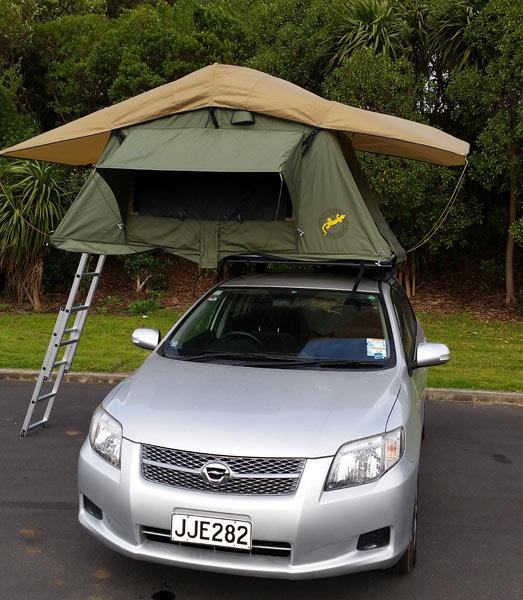 Wendekreisen Roof Tent Stationwagon New Zealand Campervan Hire